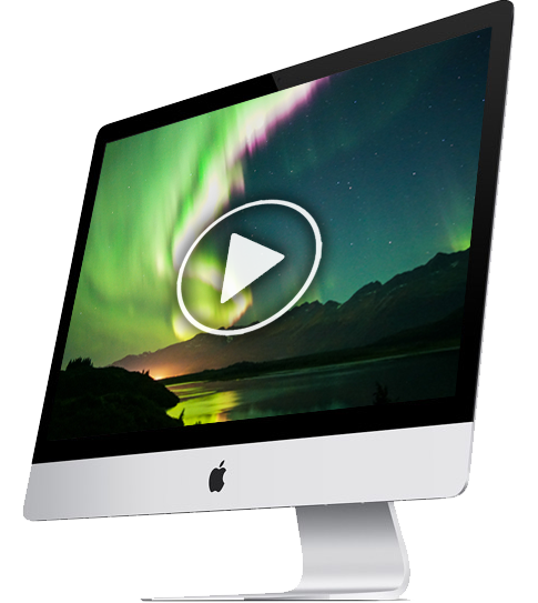 stream nothern lights from webcams