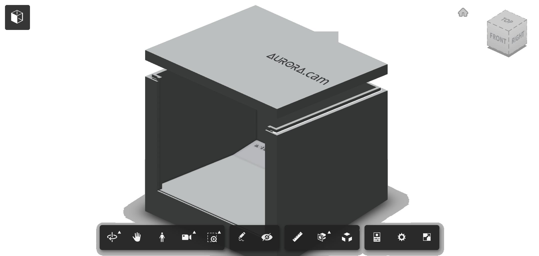 autodesk360 3d weatherproof camera box