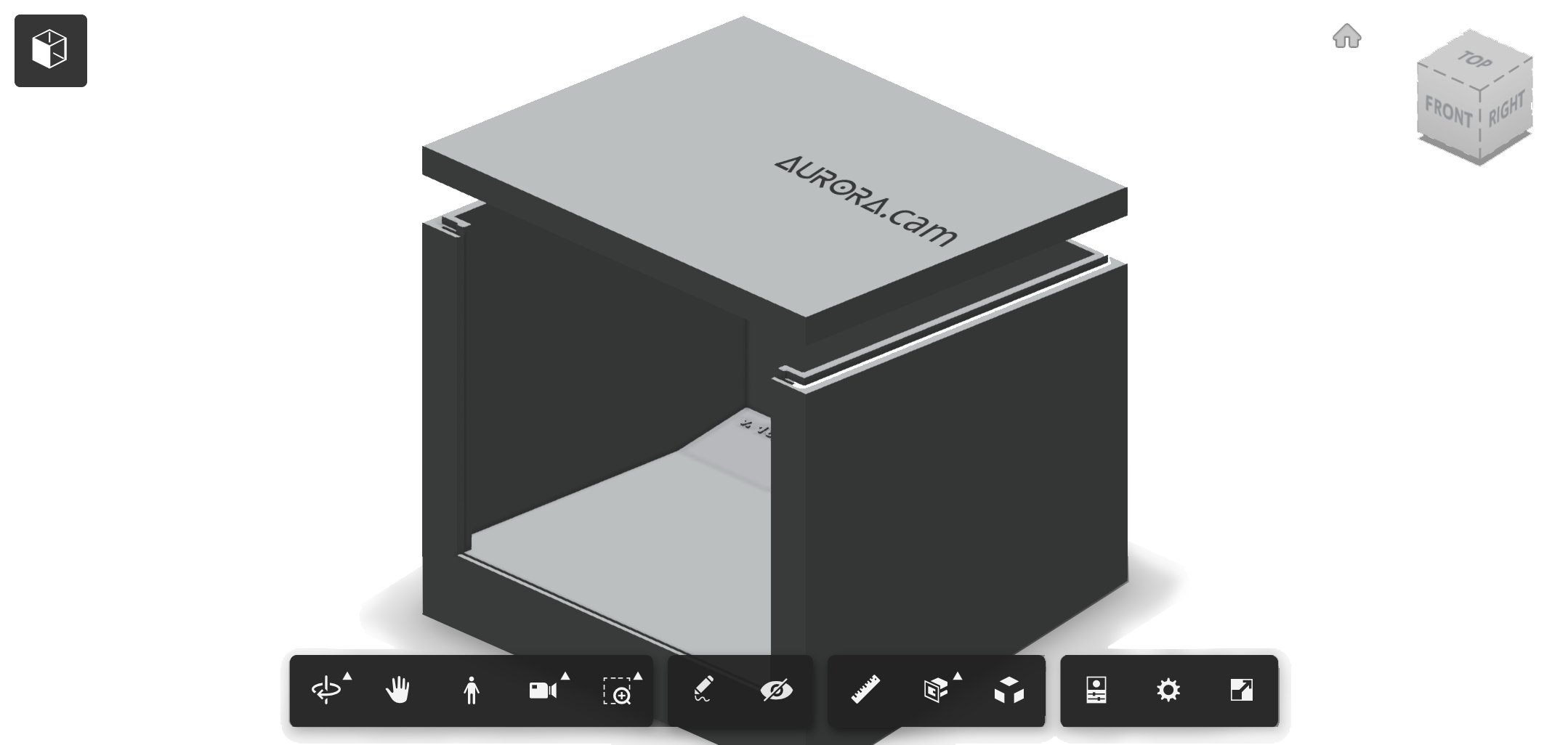 autodesk360 3d weatherproof camera box
