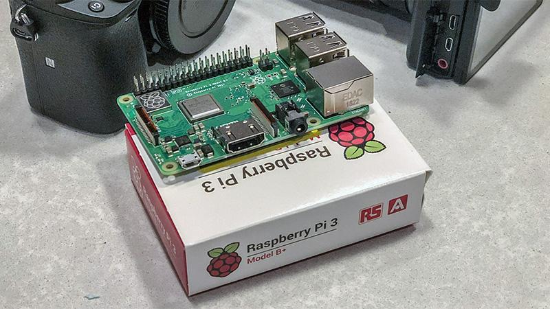 Raspberry Pi linux python programmatic photography