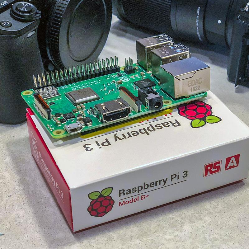 Raspberry Pi for serverless Python scripts programmatic camera