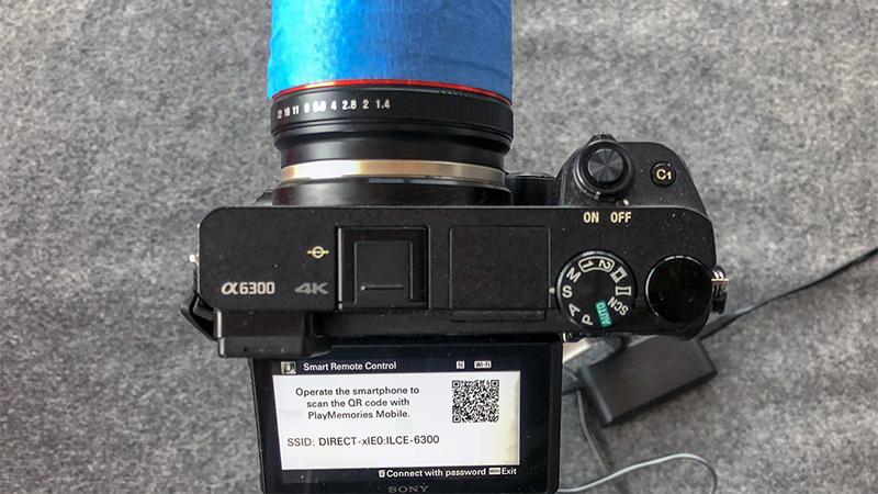 Sony A6300 mirrorless camera programmatic photography aurora