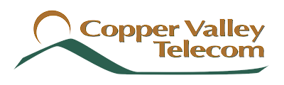 Copper Valley Telecom logo Fiber Optic Internet logo