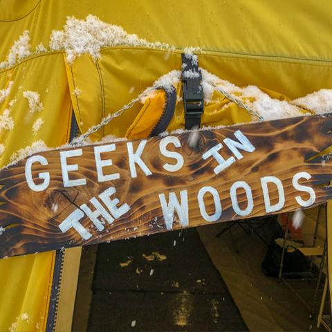 hiring geeks living working camping
