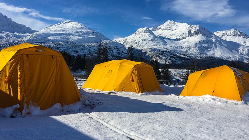 camping in valdez, alaska
