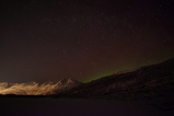 photograph of aurora with Sony Alpha mirrorless camera for astrophotography in Valdez, Alaska